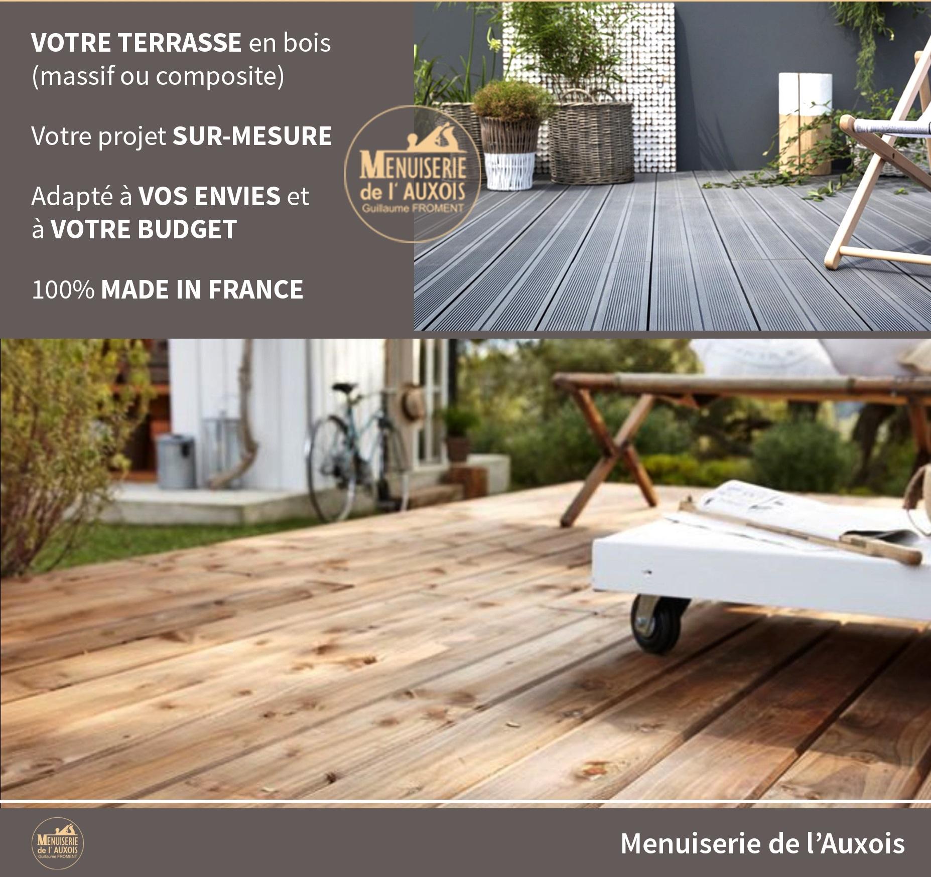 Vente Bois Pour Terrasse profitez de votre terrasse en bois (massif ou composite